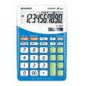 Sharp EL-332B-BL Scrivania Financial calculator Blu