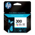 HP 300 Tri-color Ink Cartridge