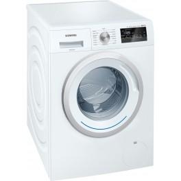 Siemens WM12N227IT Libera installazione Caricamento frontale 7kg 1175Giri min A+++ Bianco lavatrice
