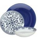 Tognana Porcellane ME070185457 18pezzo(i) Porcellana Blu, Bianco servizio da tavola