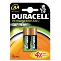 Duracell AA Supreme (2pcs) Batteria ricaricabile