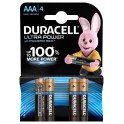 Duracell Mini Stilo AAA Ultra Power (4pcs) batteria non-ricaricabile Alcalino 1.5 V