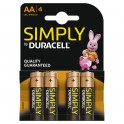 Goobay LR6 4-BL Duracell Simply Batteria monouso Stilo AA Alcalino