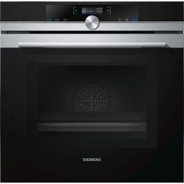 Siemens iQ700 HM633GNS1 forno Forno elettrico 67 L Nero, Acciaio inossidabile