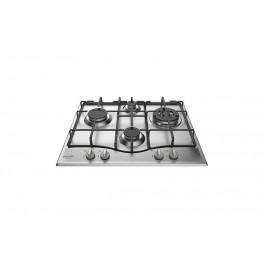 Hotpoint PCN 642 T IX HAR piano cottura Acciaio inossidabile Da incasso Gas 4 Fornello(i)