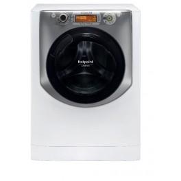 Hotpoint AQ97D 49D IT lavatrice Libera installazione Caricamento frontale Argento, Bianco 9 kg 1400 Giri min A+++
